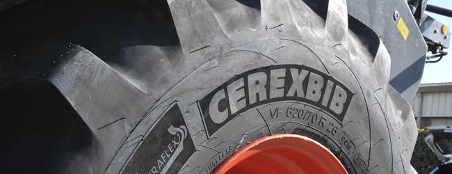 Les pneumatiques compactent moins le sol que les chenilles
